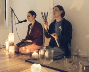 sound healing tokyo