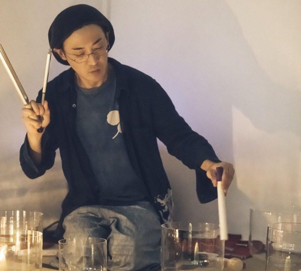 crystal bowl Naoshi